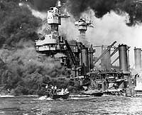 USS Maryland and capsized USS Oklahoma - g19930t