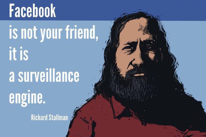Facebook not a friend
