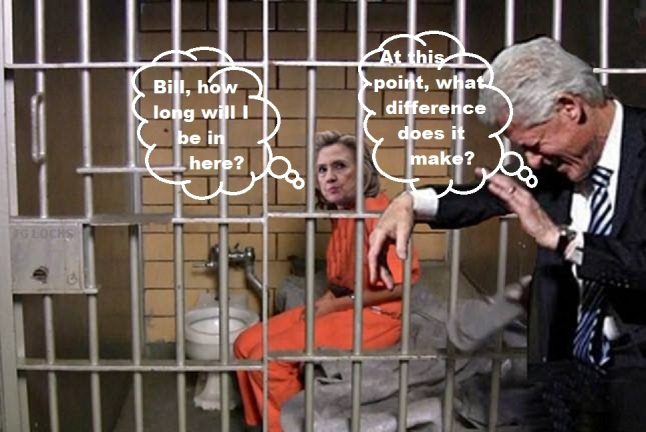 Hillary in prison