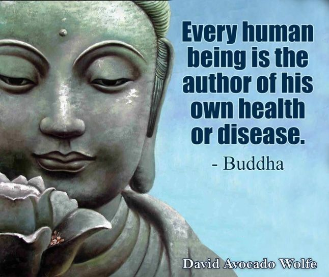 buddha on disease