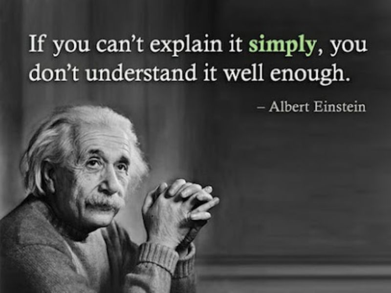 albert einstein on understanding