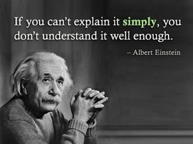 albert einstein on understanding